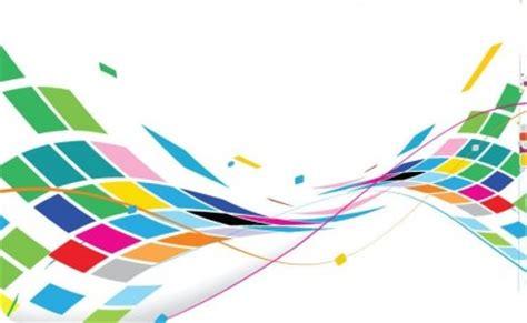 desain grafis abstrak desain bergelombang abstrak latar belakang berwarna warni