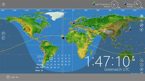 time change map world astro clock light for windows 8
