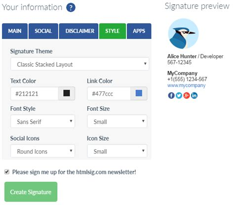 free email signatures templates anuvrat info