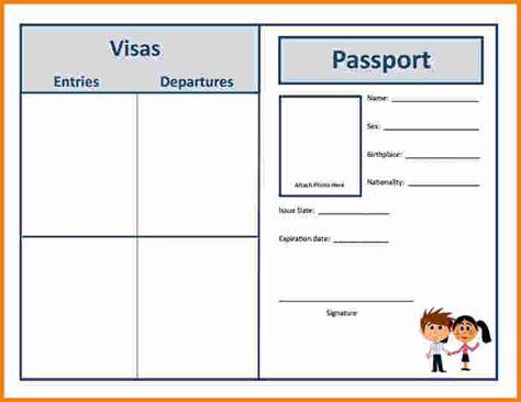 passport template uk 12 passport template cashier resume