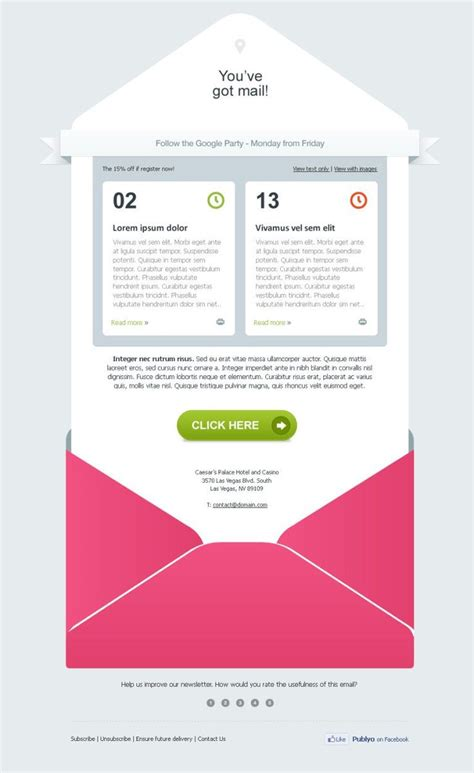 email design 18 best graphic design emails images on pinterest email