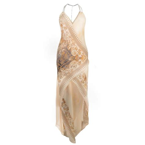 Patritia Maxy Dress patrizia pepe baroque print maxi dress in ebay