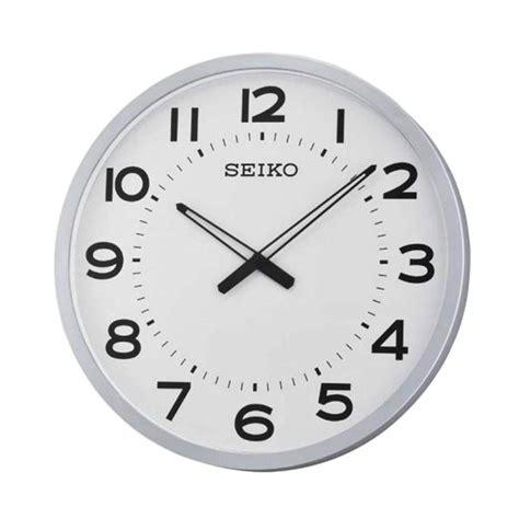 Jam Dinding Standard White cek harga seiko qxa658s wall clock jam dinding silver 30