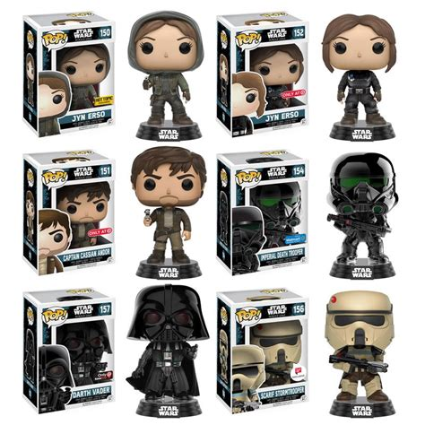 Funko Pop Wars Rogue One No 139 Captain Cassian Andor anakin and his rogue one funko pop glam