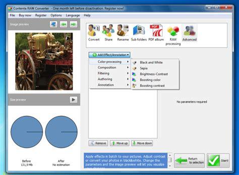 converter raw contenta raw converter download