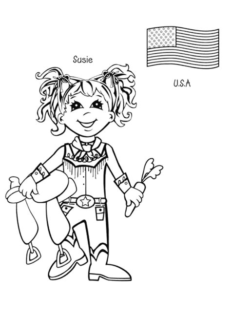 Kids Around The World Coloring Pages Coloringpagesabc Com Printable Coloring Pages Around The World