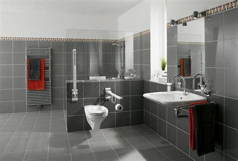 graue farbe badezimmer moderne badideen f 252 r fliesen archzine net