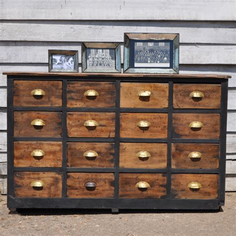 rustic industrial chest of drawers vintage apothecary drawers industrial style home barn