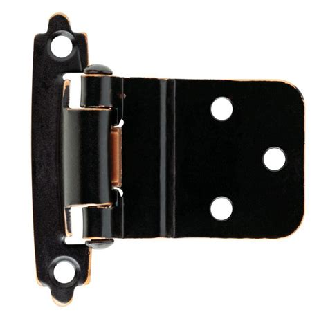 liberty 3 8 in venetian bronze self closing inset hinge
