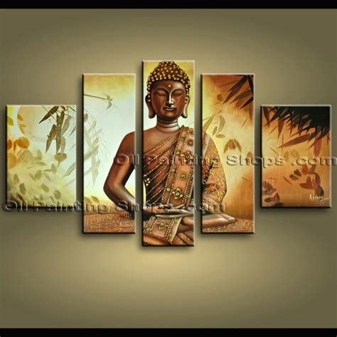 buddha oil painting wall art paintings picture paiting huge abstract zen feng shui religion oil painting wall art