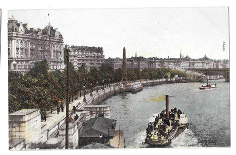 thames river embankment uk london thames river embankment steamer boats f hartmann