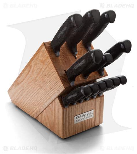 cold steel kitchen knives cold steel kitchen classics set 13 59ksset blade hq