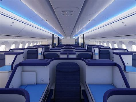 Dreamliner 787 Interior Pictures by Boeing 787 Dreamliner Completes Its Commercial