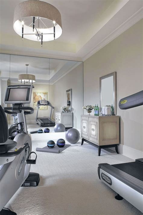 decorating a home gym source pinterest