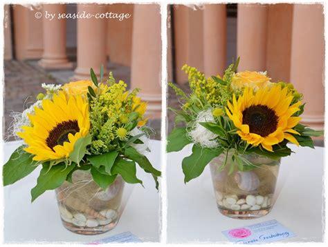 Sonnenblumen Tischdeko by Seaside Cottage Tischdeko F 252 R Den Premierenempfang