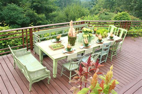 outdoor table setting table setting ideas for your next festive gathering