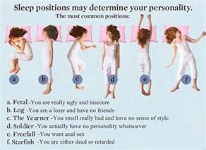 How Can U Determine The Gender Of Your Baby by Ninjadiva Sleep Positions Personality Traits