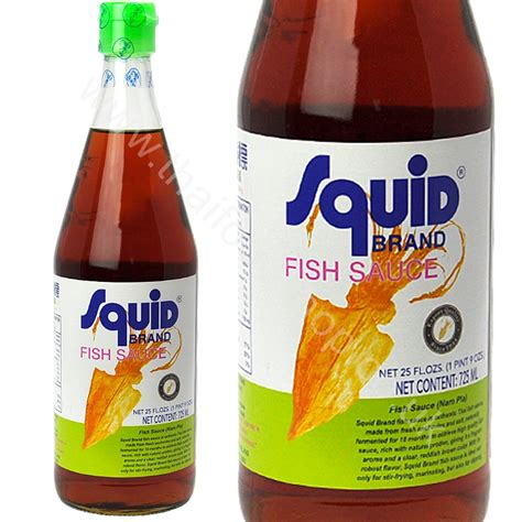 Kitchen Carving Knives Squid Fish Sauce 300ml Thai Food Shop