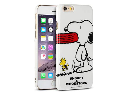 iPhone 6 Peanuts Snoopy Hard Case (SNG 88B)