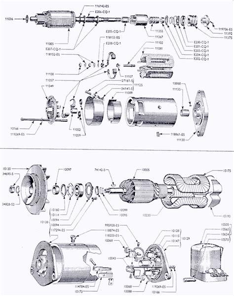 starter motor parts diagram ford starter parts diagram 26 wiring diagram images