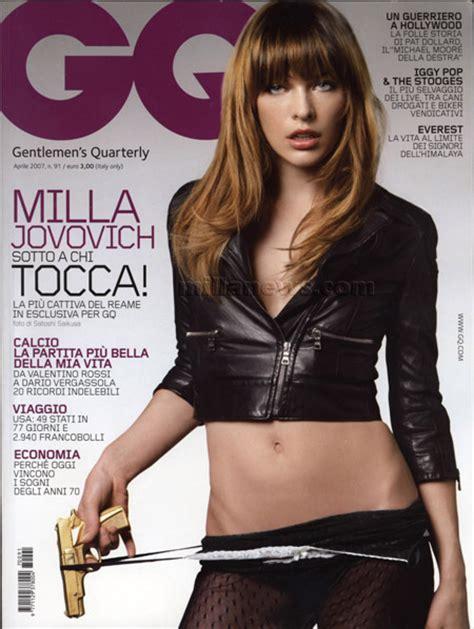 milla jovovich gq milla jovovich en gq magazine farandulista