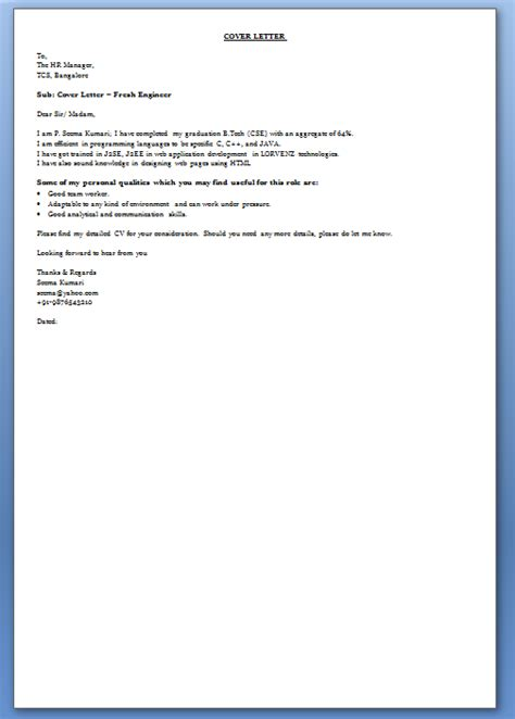 Speculative Covering Letter speculative cover letter