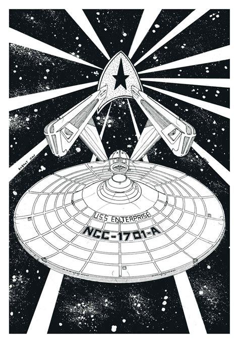 Drawing 8 Trek Ointment by Drawings Pen Ink Trek Quot Starship U S S Enterprise