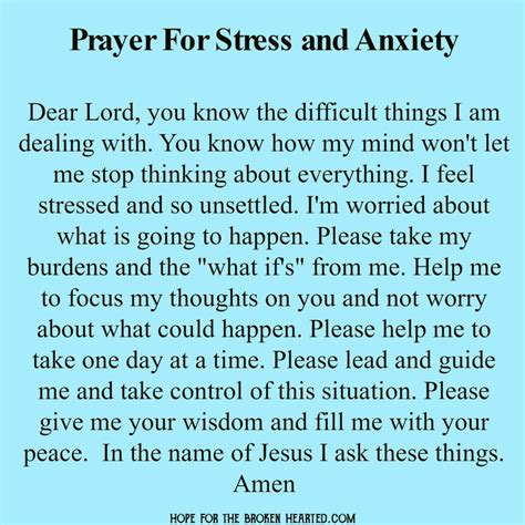 how to overcome anxiety and find peace 30 days to equip for s storms books prayer for stress and anxiety prayers