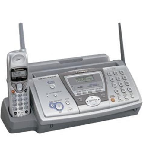 Panasonic Kx Fp 701 Plain Paper Mesin Fax panasonic plain paper fax machine kx fp376 110220volts