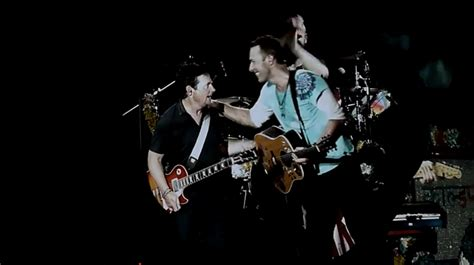 coldplay back to the star watch coldplay play two quot back to the future quot songs with