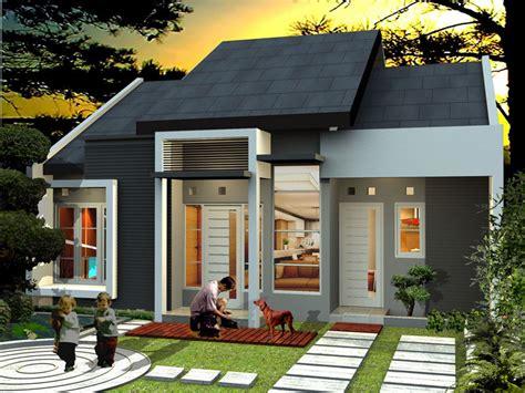 contoh design exterior rumah minimalis dekorasi dan desain rumah minimalis type 45 contoh model
