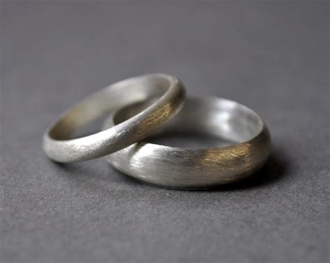 the most beautiful wedding rings wedding ring brushed silver