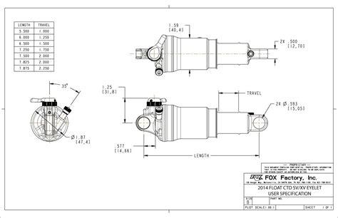 float ctd boost valve rebuild bike help center fox 2014 2015 float ctd user specification drawings bike
