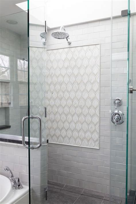 Shower Panels Instead Of Tiles by Tile White Tiles And Mosaics On