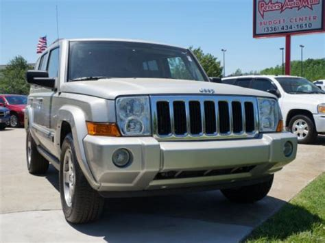 2009 Jeep Commander Sport Sell Used 2009 Jeep Commander Sport In 2857 S St