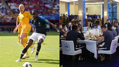 coupe du monde 2018 football coupe du monde 2018 matuidi raconte une journ 233 e de match