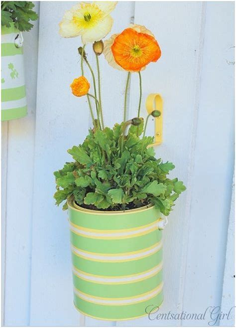 Paint Can Planters paint can planters upcycle that