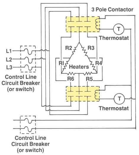 three phase heater wiring diagram wiring diagram manual