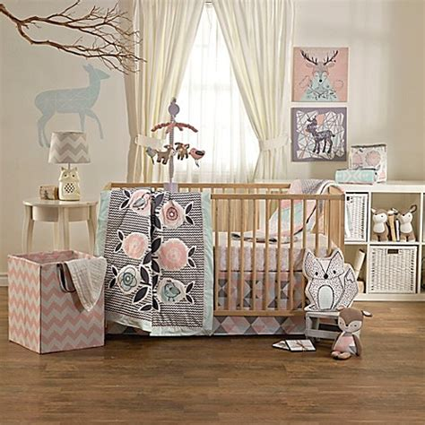 Mix And Match Crib Bedding Lolli Living By Living Textiles Mix Match Sparrow 4 Crib Bedding Set Buybuy Baby