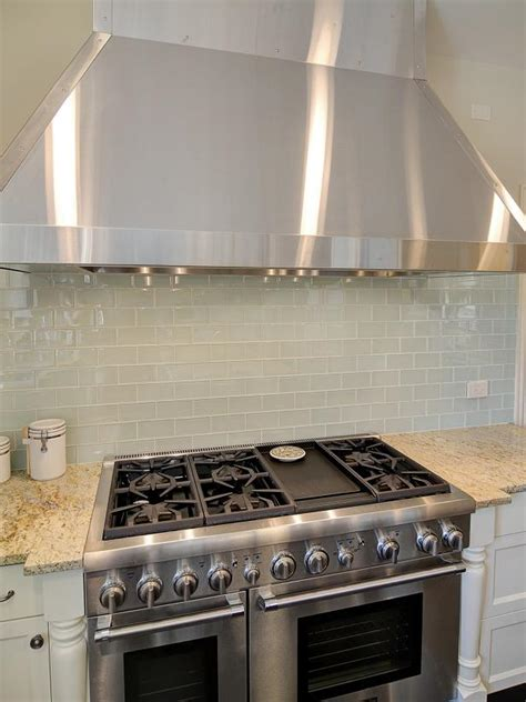 stainless steel backsplash stove photo page hgtv