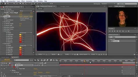 tutorial after effect intro after effects tutorial intro with trapcode 3d stroke