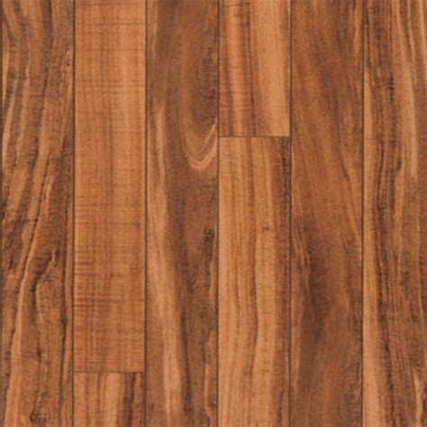 pergo xp hawaiian curly koa  mm thick     wide     length laminate flooring