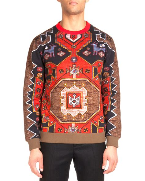 Rug Clothing by Givenchy Rug Printed Sweatshirt In For Lyst