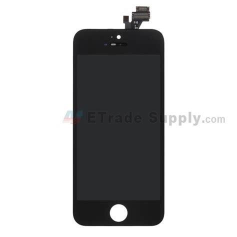Frame Lcd Iphone 5 apple iphone 5 lcd screen and digitizer assembly with frame black etrade supply