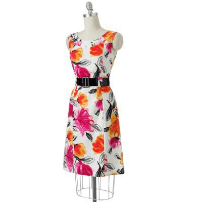 Pretty Dresses To Wear For Easter by Ab Studio Floral Sheath Dress 7 Pretty Dresses To Wear For