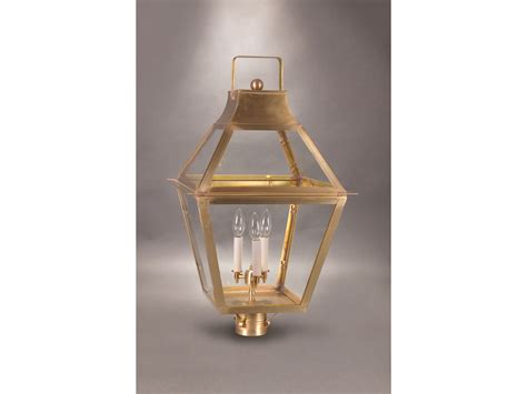 Northeast Lantern Northeast Lantern Uxbridge Three Light Outdoor Post Light