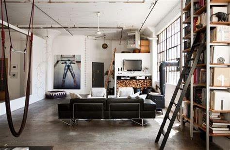 Industrial Room by How To Achieve An Industrial Style
