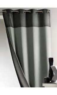 rideau bicolore 100 occultant gris bordeaux