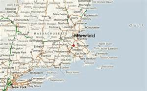 mansfield map mansfield massachusetts location guide