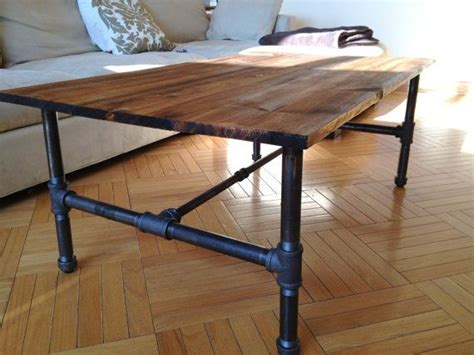 Industrial Rustic Coffee Table Customizable Rustic Industrial Coffee Table